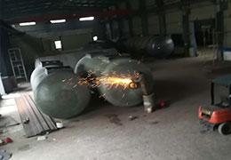 油罐焊接作业中